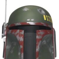 11. signed star wars boba fett helmet, don post, 1995