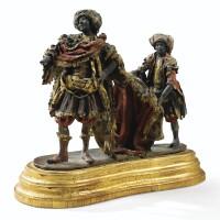 623. naples, xviiie siècle un roi mage et son page