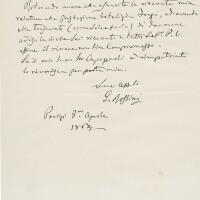 210. rossini, gioachino. autograph letter signed