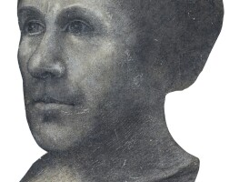 12. circle of jean fouquet | study of the head of a man