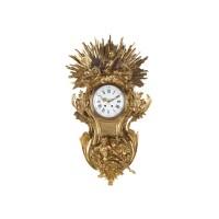 16. an imposing french napoleon iii gilt bronze sculptural cartel clock, circa 1860