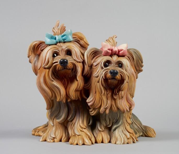 Jeff Koons Yorkshire Terriers