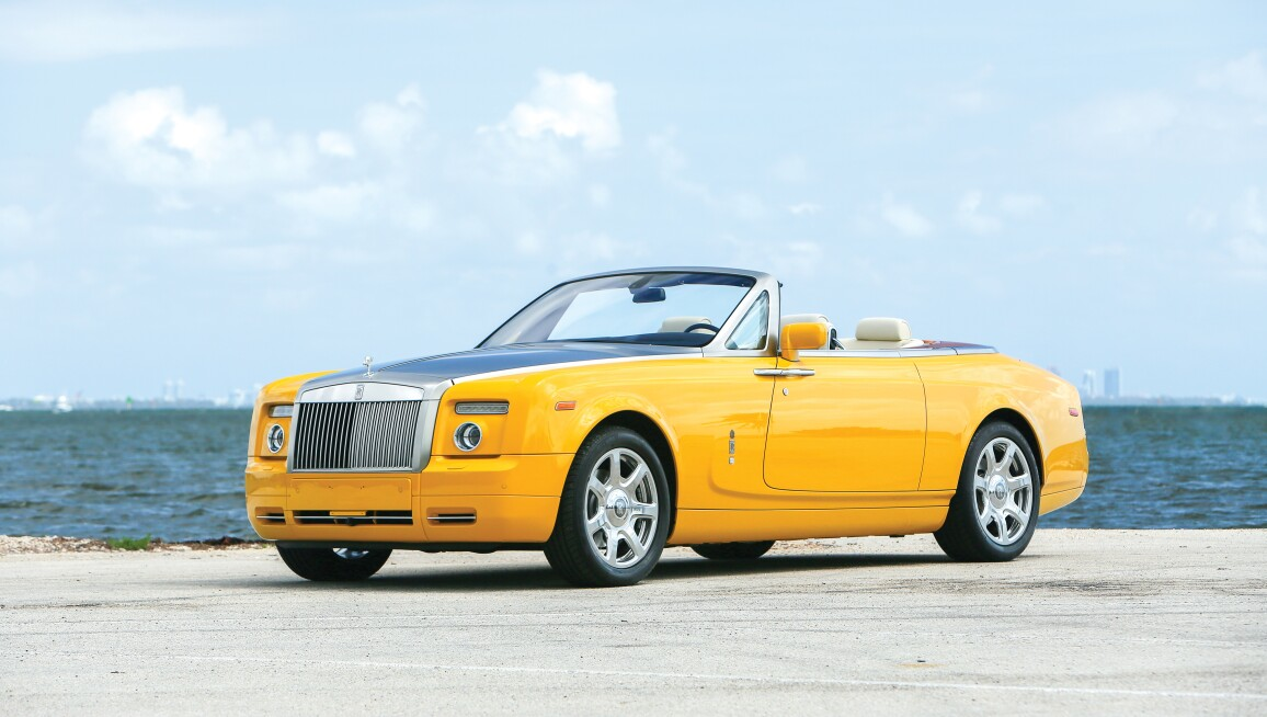 The Bijan Yellow Rolls-Royce, A Rodeo Drive Fixture