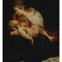 2. italian school, circa 1600 | madonna and child