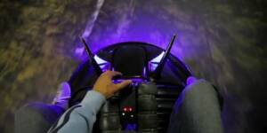 Test-driving the ELECTROBITE car, a trilobite-shaped DIY vehicle (BB Video)