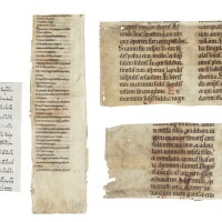 2. fragments in latin and hebrew [germany, france, italy, 10th(?) to 15th centuries]