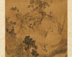 2534. 吳彬 (約1590-1643) | 秋溪垂釣