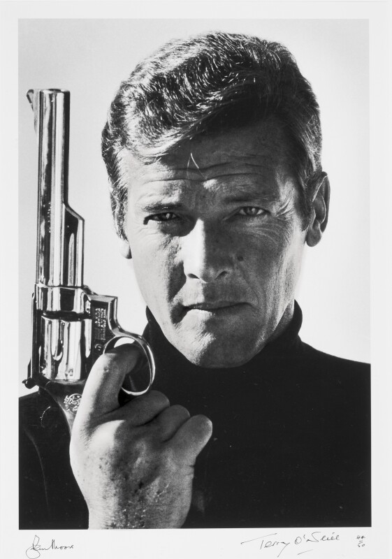 Terry O'Neill, Sir Roger Moore as James Bond 1973