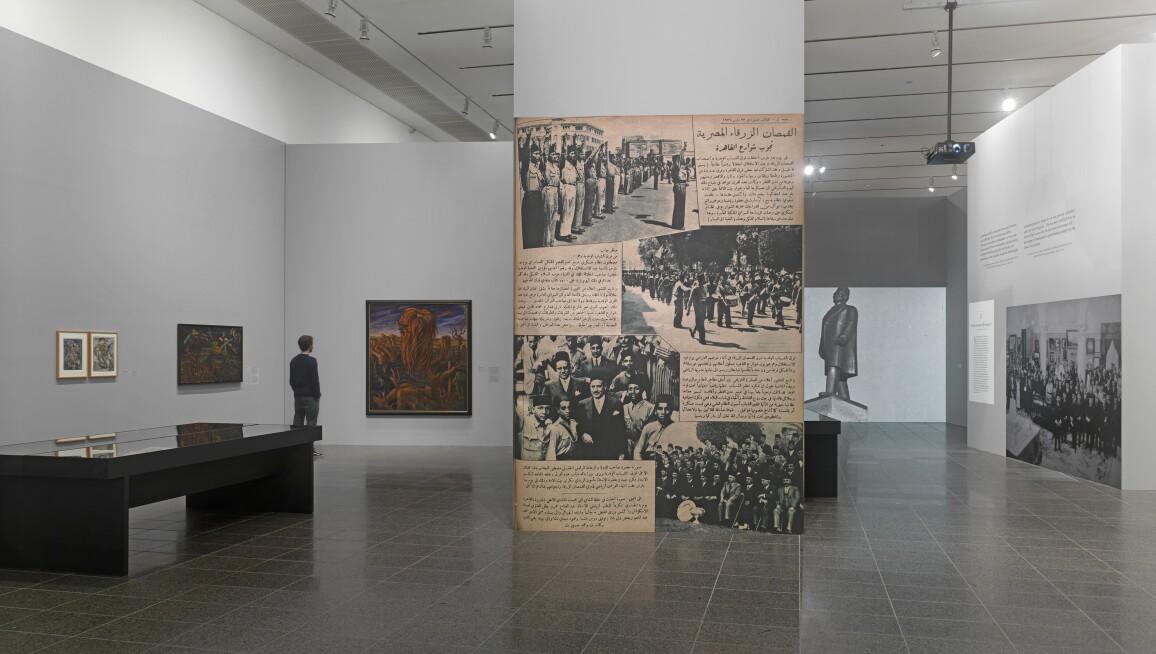 Interior view, Stiftung Kunstsammlung Nordrhein-Westfalen K20 Grabbeplatz