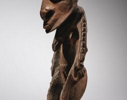 2. statue, bas sepik, papouasie-nouvelle-guinée