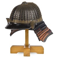 6. a zaboshi so fukurin kabuto [helmet] edo period, 17th century |