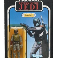 145. star wars return of the jedi boba fett action figure, 1983
