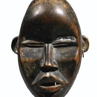82. masque, dan, côte d'ivoire