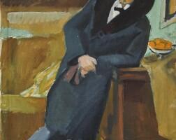 1. 馬克斯·佩希斯坦 | 《男子肖像:布魯諾·斯內德瑞特》