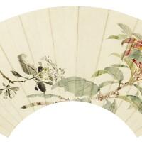 1208. 袁江 (約1660-1740) | 紅葉石楠