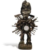 98. statue, kongo, république démocratique du congo |