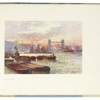 42. collection of 15 volumes about the river thames
