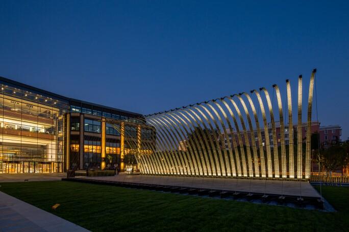Serpentine Pavilion Beijing 2018 designed by JIAKUN Architects