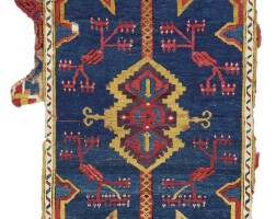 30. a 'karapinar' rug fragment, central anatolia, konya province