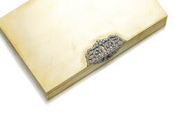 48. gold and diamondvanity case