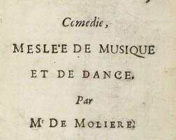 11. Molière, Jean-Baptiste Poquelin dit