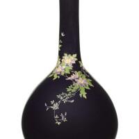 164. a cloisonné vase signed kyoto namikawa, meiji period, late 19th century | a cloisonné vase