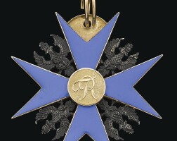44. prussia, order of the black eagle |