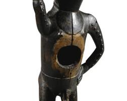 221. statue, kongo yombé, république démocratique du congo |