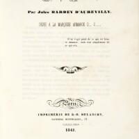 2. Barbey d'Aurevilly, Jules