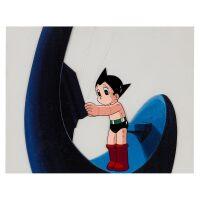 1004. astro boy by mushi production | astroy boy animation cel