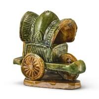 303. a sancai carriage ming dynasty