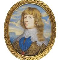 7. john hoskins   portrait of james stuart, 1st duke of richmond and 4th duke of lennox (1612-1655), circa 1640