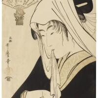 28. kitagawa utamaro i (1750s–1806)love for a street-walker (tsuji-gimi ni yosuru koi) edo period, 18th century | love for a street-walker (tsuji-gimi ni yosuru koi), edo period, circus 1795–96