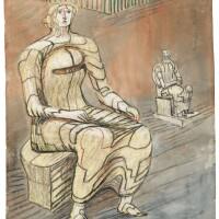 2. Henry Moore, O.M., C.H.