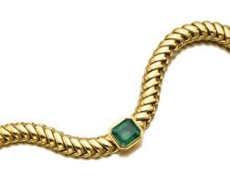 510. emerald necklace