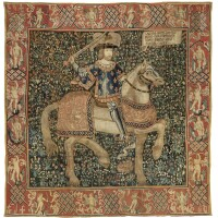 45. a flemish tapestry charlemagne, probably tournai, early 16th century |