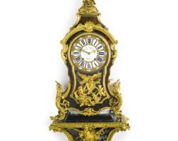 45. a louis xv ormolu-mounted tortoiseshell cartel clock circa 1730, the dial and movement signed charles baltazar a paris