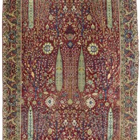 9. a lahore carpet, north india
