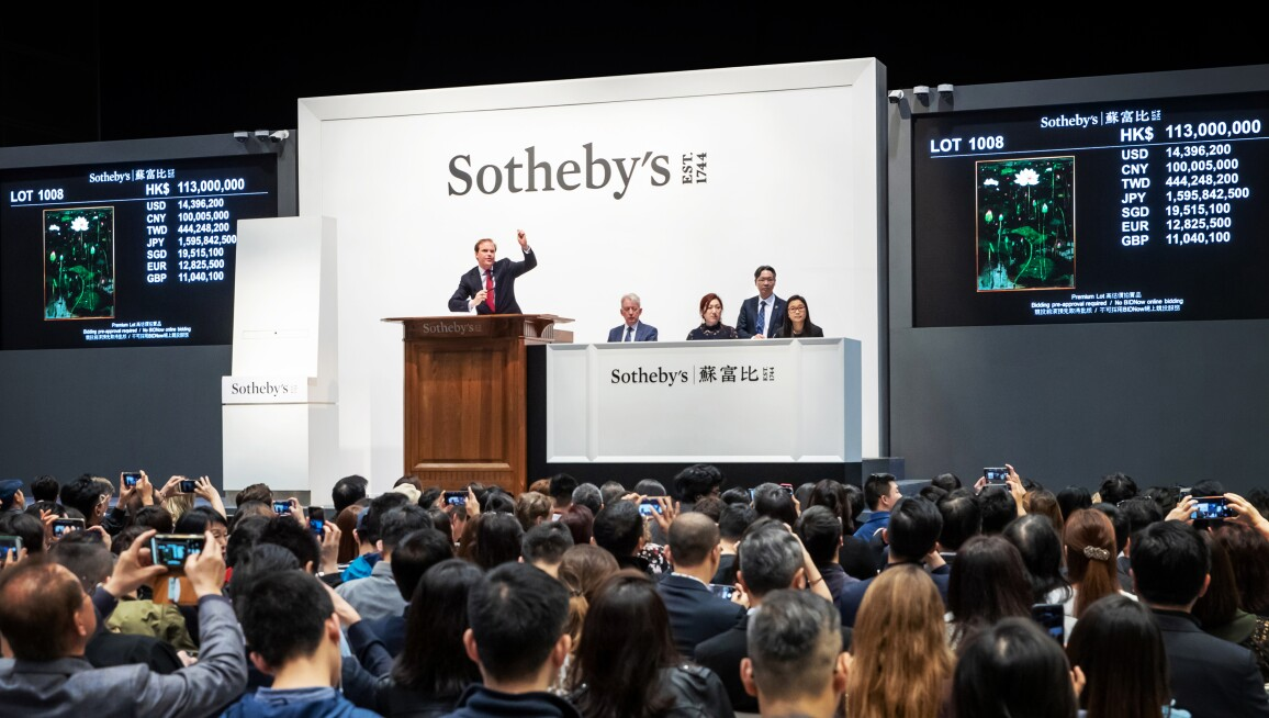 Sothebys Auction Results >> Modern Art Continued To Deliver Strong Results In Asia Auction