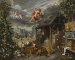 138. jan breughel the younger   allegory of war and peace