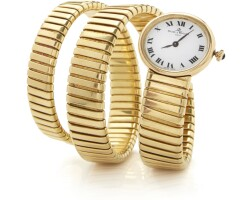 509. lady's wristwatch, baume & mercier