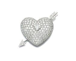 467. diamond brooch