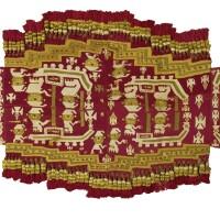 8. chimu tunic with fringe, late intermediate period, ca. a.d. 900-1150