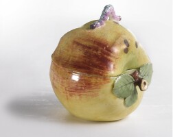 11. a fine chelsea porcelain apple tureen and cover circa 1755