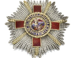 22. great britain, the most distinguished order of saint michael and saint george |