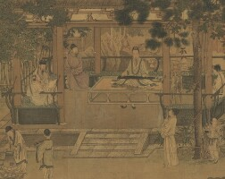 840. Attributed to Qiu Ying