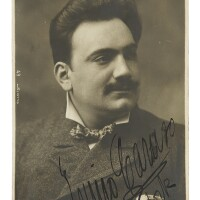 """175. caruso, enrico. autograph letter signed (""""enrico caruso""""), to sig. fano"""