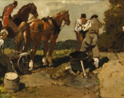49. alessio issupoff   the horse cart