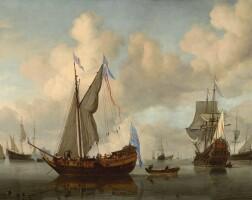 16. Willem van de Velde the Younger