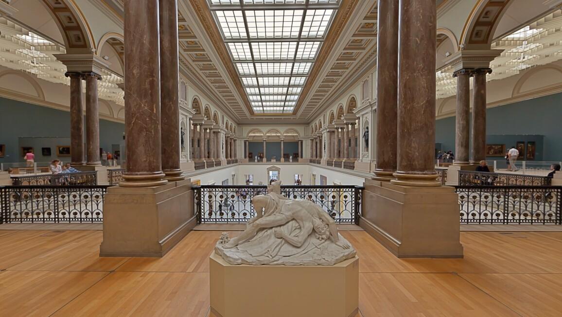 Interior View, Musée Oldmasters Museum, Musées Royaux Des Beaux-Arts de Belgique